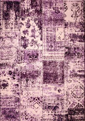 DAMASKUS LILA133X195