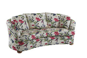 CLAIRE svängd soffa