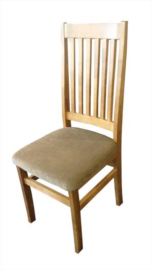 MÖRKÖ - stol korta Ribbor  2-pack