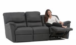 SARATOGA 2 sitssoffa med 2 recliners