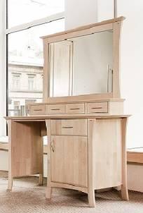 KINO smink byrå/skrivbord m hylla och spegel
